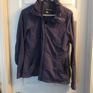 Eddie Bauer purple windbreaker